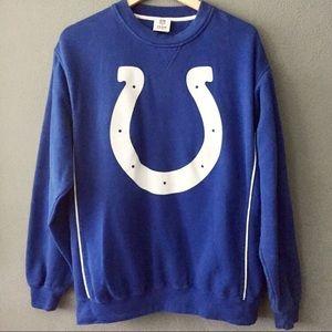 Vintage NFL Colts Crew Neck Pullover Sweatshirt